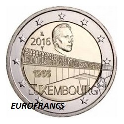 2 € Luxembourg 2016 / 1